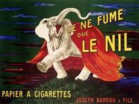 Je ne Fume que Le Nil, 1912 Framed Print