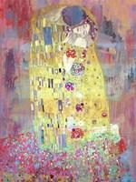 Klimt's Kiss 2.0 Fine Art Print
