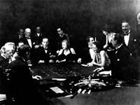 La Roulette a l'interieur d'un Casino a Monte Carlo, 1934 Fine Art Print