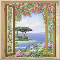Sulla costa Mediterranea Fine Art Print