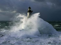 Phare d' Ar-Men Fine Art Print