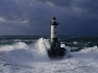 Phare d' Ar-Men, Bretagne Fine Art Print