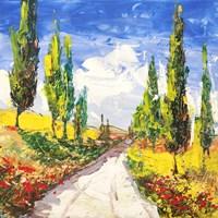 Strada Toscana Fine Art Print