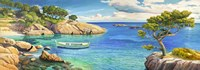 Verde Mediterraneo Fine Art Print