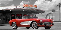 Historical Diner, USA Fine Art Print