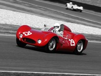 Historical Race Cars 1 Fine Art Print
