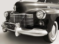 1941 Cadillac Fleetwood Touring Sedan Fine Art Print