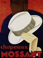 Chapeaux Mossant, 1928 Fine Art Print
