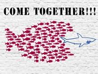 Come Together!!! Fine Art Print
