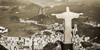 Overlooking Rio de Janeiro, Brazil Fine Art Print