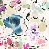 Floral Funk I Fine Art Print