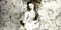 Madonna and Child (after Van Dyck) Fine Art Print