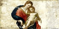 Madonna and Child (after Procaccini) Fine Art Print
