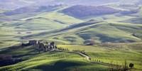 A Road in Tuscany Fine Art Print