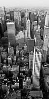 Skyscrapers in Manhattan II Framed Print
