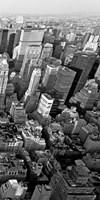 Skyscrapers in Manhattan III Framed Print