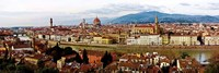 Panoramic View of Florence Fine Art Print