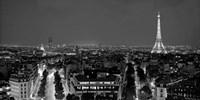 Paris at Night Fine Art Print