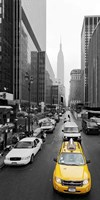 Taxi in Manhattan, NYC Fine Art Print
