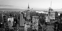 Aerial View of Manhattan, NYC 1 Fine Art Print