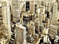 Skycrapers in Manhattan, NYC Fine Art Print