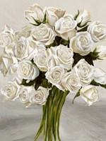 Bouquet Blanc II Fine Art Print