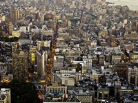 Aerial View of Manhattan, NYC Fine Art Print