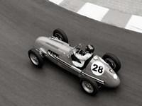 Historical Race Car at Grand Prix de Monaco 3 Fine Art Print