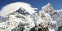 Mount Everest (detail) Framed Print
