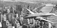 Flying over Manhattan, NYC Fine Art Print