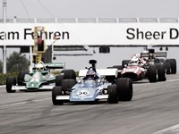 Historical Race Cars at Grand Prix, Nurburgring Fine Art Print