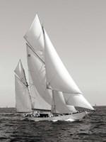 Classic sailboat Fine Art Print