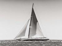 Classic  Racing Sailboat Fine Art Print