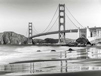 Baker Beach and Golden Gate Bridge, San Francisco 2 Fine Art Print