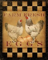 Farm Fresh Eggs I Fine Art Print
