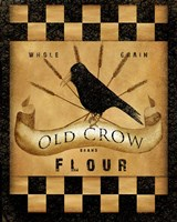Old Crow Flour Fine Art Print