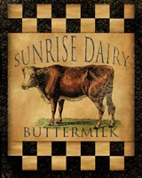 Sunrise Dairy Fine Art Print