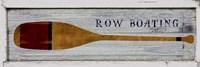 Row Boating Fine Art Print