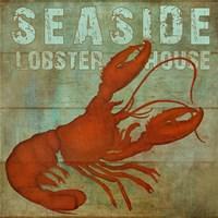 Seaside Lobster Fine Art Print