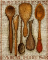 Wooden Spoons High Fine Art Print