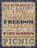 Fourth of July Fine Art Print