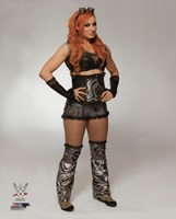 Becky Lynch 2016 Posed Fine Art Print