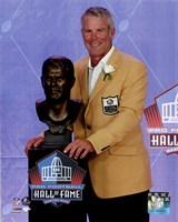 Brett Favre 2016 NFL Hall of Fame Induction Ceremony Framed Print