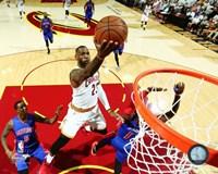 LeBron James 2016 NBA Playoff Action Fine Art Print