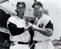 Mickey Mantle & Roger Maris Posed Framed Print