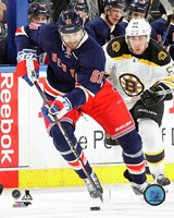 Rick Nash 2015-16 Action Fine Art Print