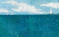 Lighthouse Sail Fine Art Print