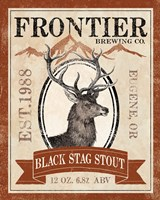 Frontier Brewing I Framed Print