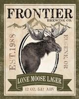 Frontier Brewing II Framed Print