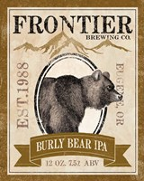 Frontier Brewing IV Framed Print